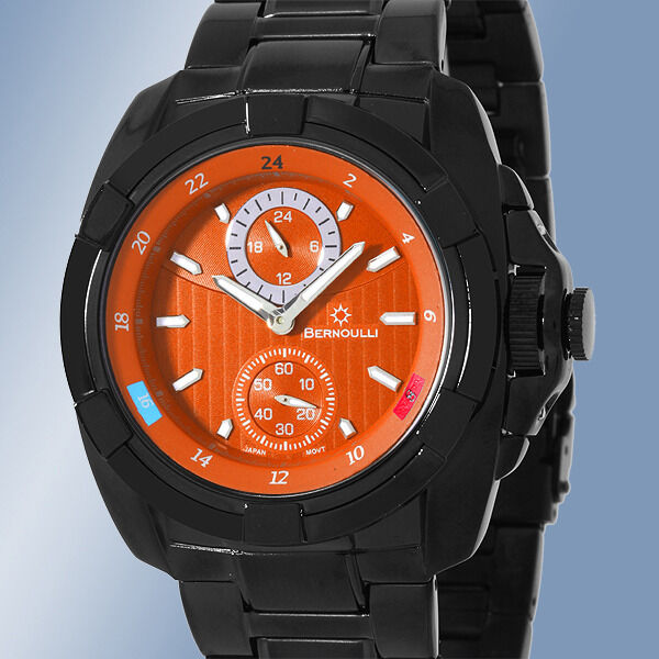 Bernoulli corvus multi function mens watch retails at clearance sale ebay for Watches clearance