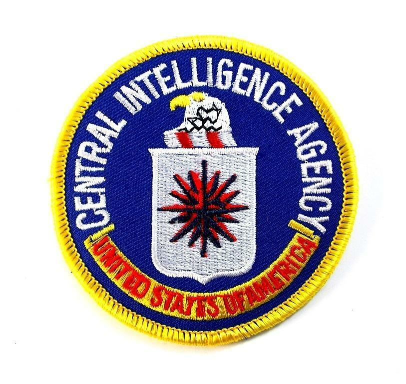 CENTRAL INTELLIGENCE AGENCY CIA USA MILITARY PATCH