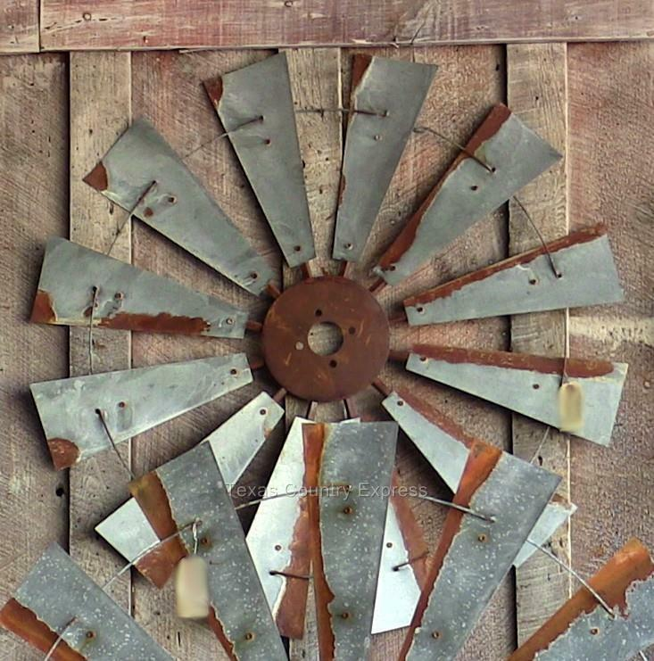 "Gifts For A Farmhouse Decor Fan: 38"" Rustic Windmill Head Fan Western Ranch Barn Farmhouse"