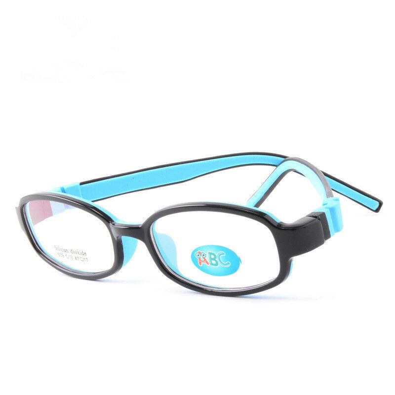 Flexible Safe Glasses Frame TR90 & Silicone Student Kids ...