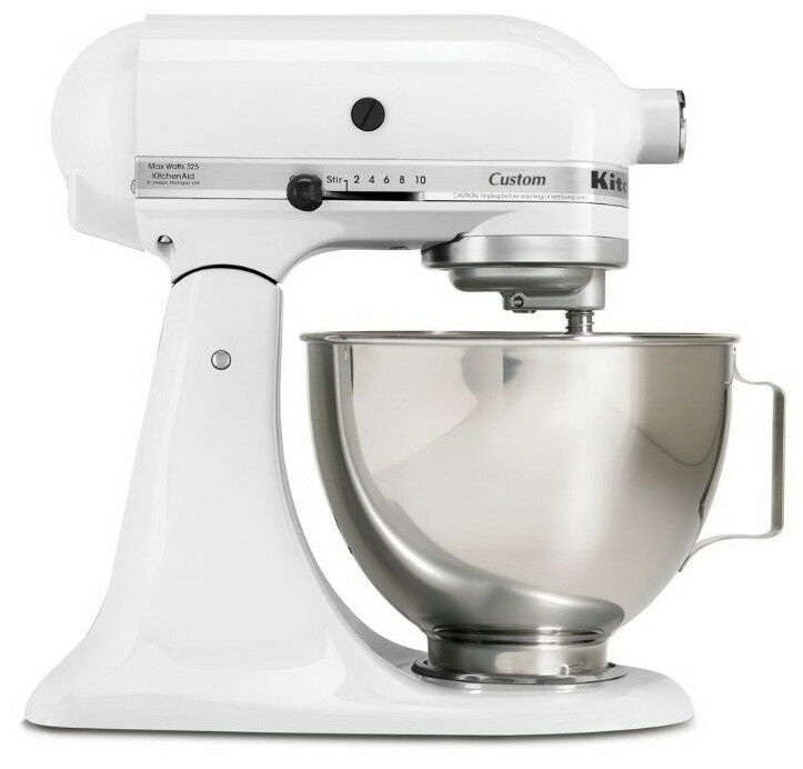new kitchenaid mixer classic 325 watt 4 1 2 quart tilt head stand
