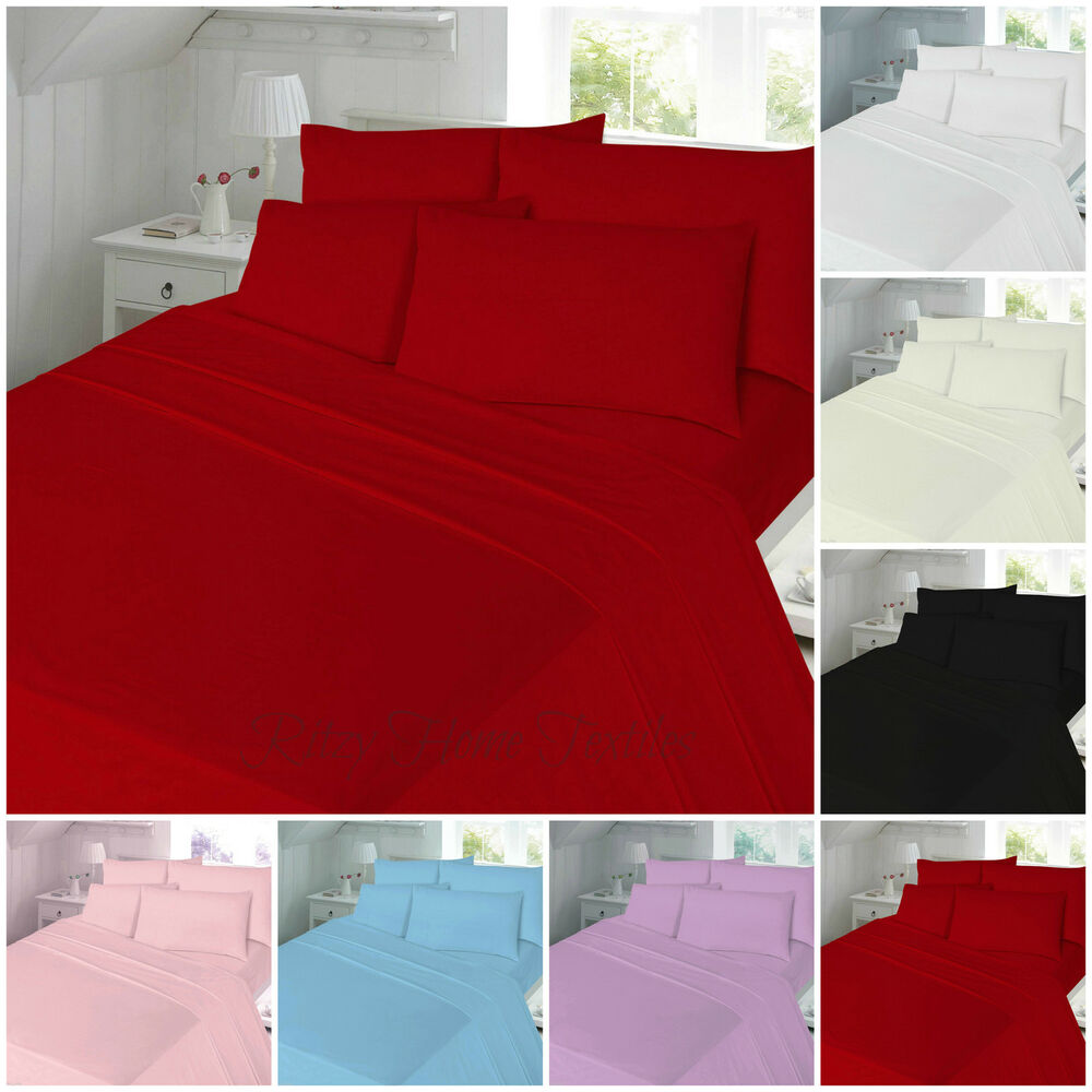 thermal flannelette 100 brushed cotton flat or fitted. Black Bedroom Furniture Sets. Home Design Ideas