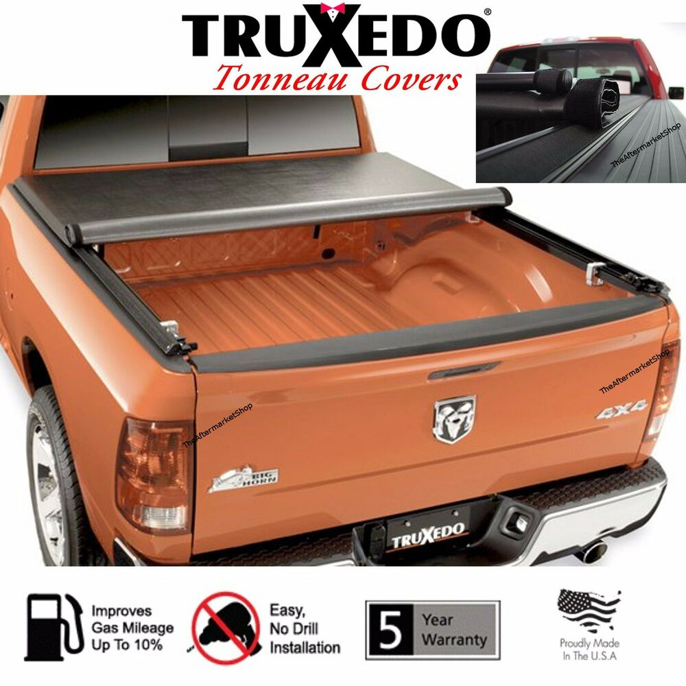 Dodge Bed Covers: TruXedo 262101 TruXport Tonneau Cover Roll Up 1997-2004