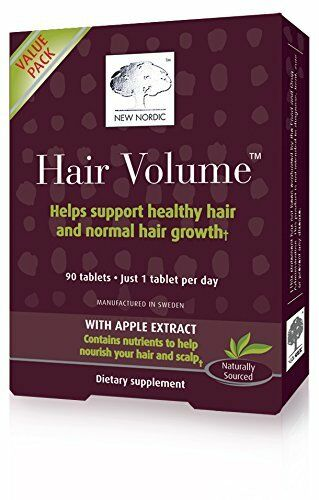 New Nordic Hair Volume Tablets, 90 Tabs - Expire Date: 04/2018 -BIG ...