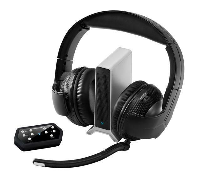 thrustmaster y 400pw 2 4g wireless gaming headset. Black Bedroom Furniture Sets. Home Design Ideas
