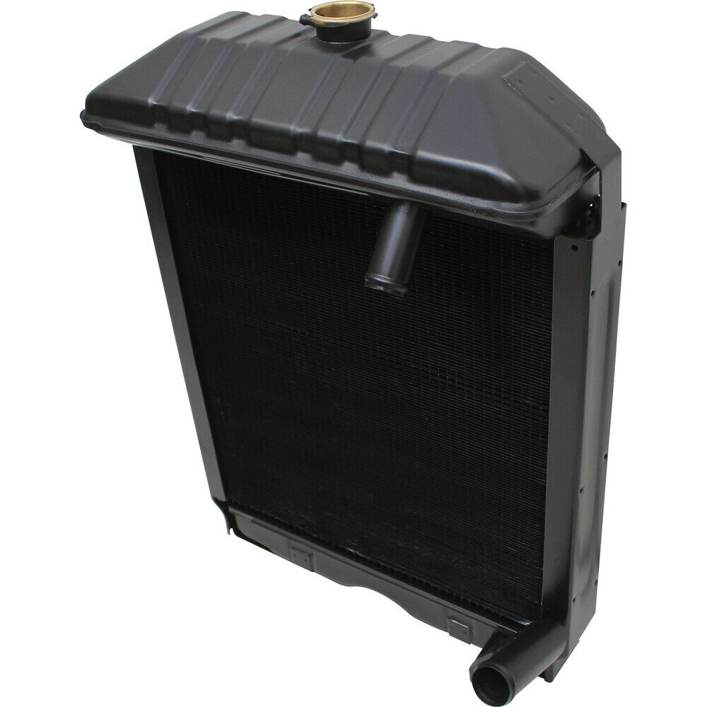 how to clean a tractor radiator
