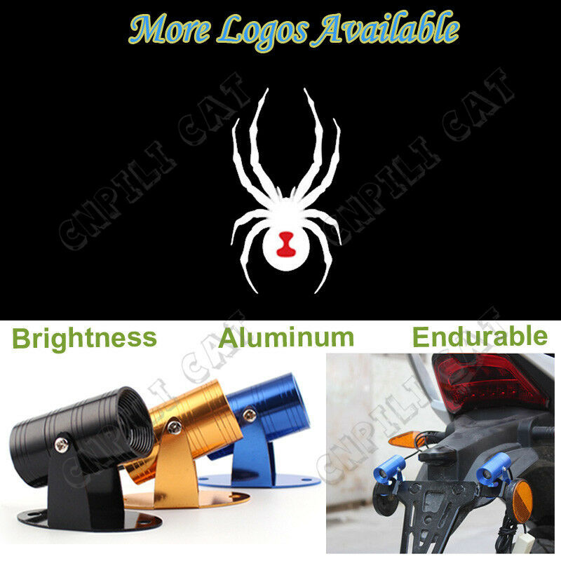 Motorcycle Led Kit >> Can Am Spyder Bike Spider Logo Motorcycle Laser Projector CREE LED Shadow Light | eBay