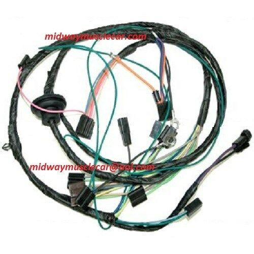 air conditioning a/c wiring harness 71 chevelle el camino ... 1985 el camino wiring harness el camino wiring diagram for sbc