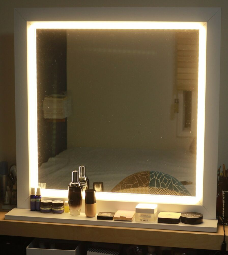 bathroom vanity mirrors with lights led lighting mirror for make up or starlet lighted vanity 22518