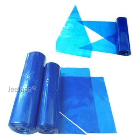 img-Blue Disposable Savoy Piping Icing Food Mash Bags 18