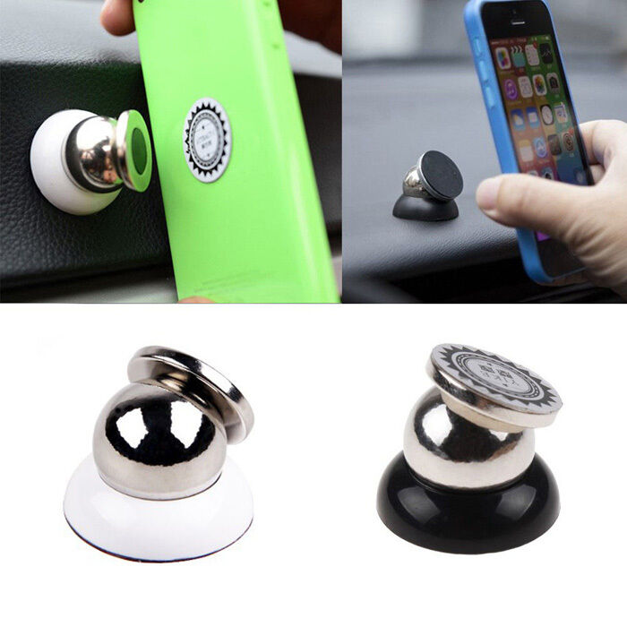 new universal magnetic car mount kit sticky stand holder for mobile cell phone q ebay. Black Bedroom Furniture Sets. Home Design Ideas