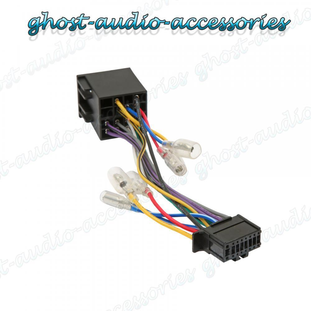 Wiring Harness To Car Stereo : Pioneer pin iso wiring harness connector adaptor car