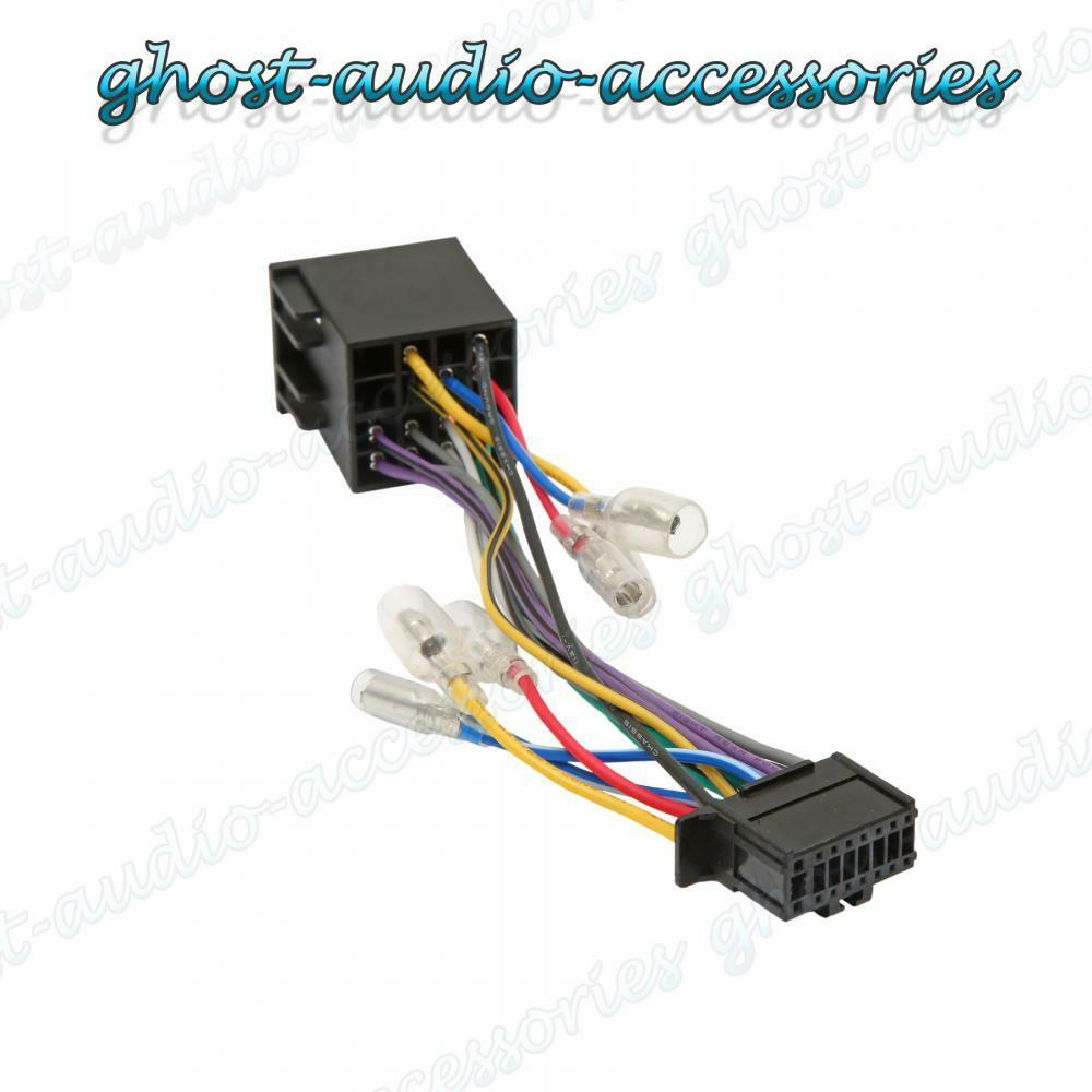 Pioneer Car Stereo Wiring Harness Opinions About Diagram Cd Player Wire Connectors 16 Pin Iso Connector Adaptor Radio Loom Pi100 Ebay