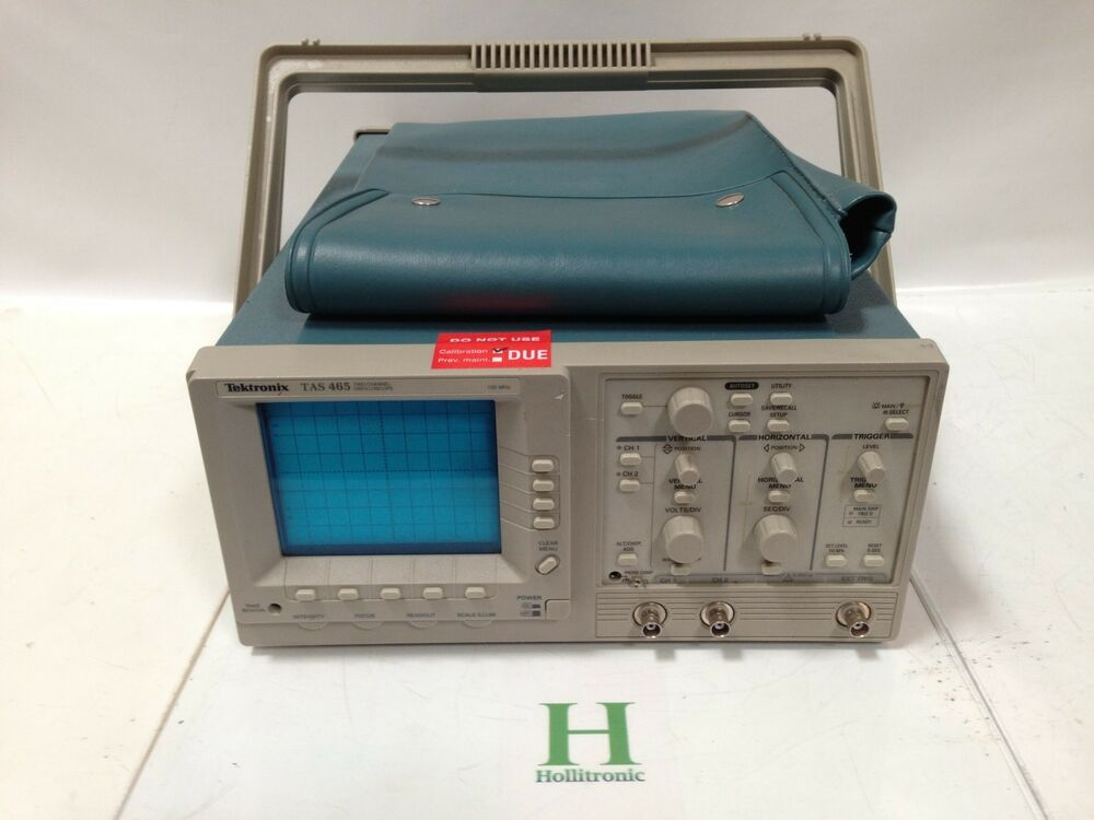 Tektronix Analog Oscilloscope : Tektronix tas mhz channel oscilloscope analog