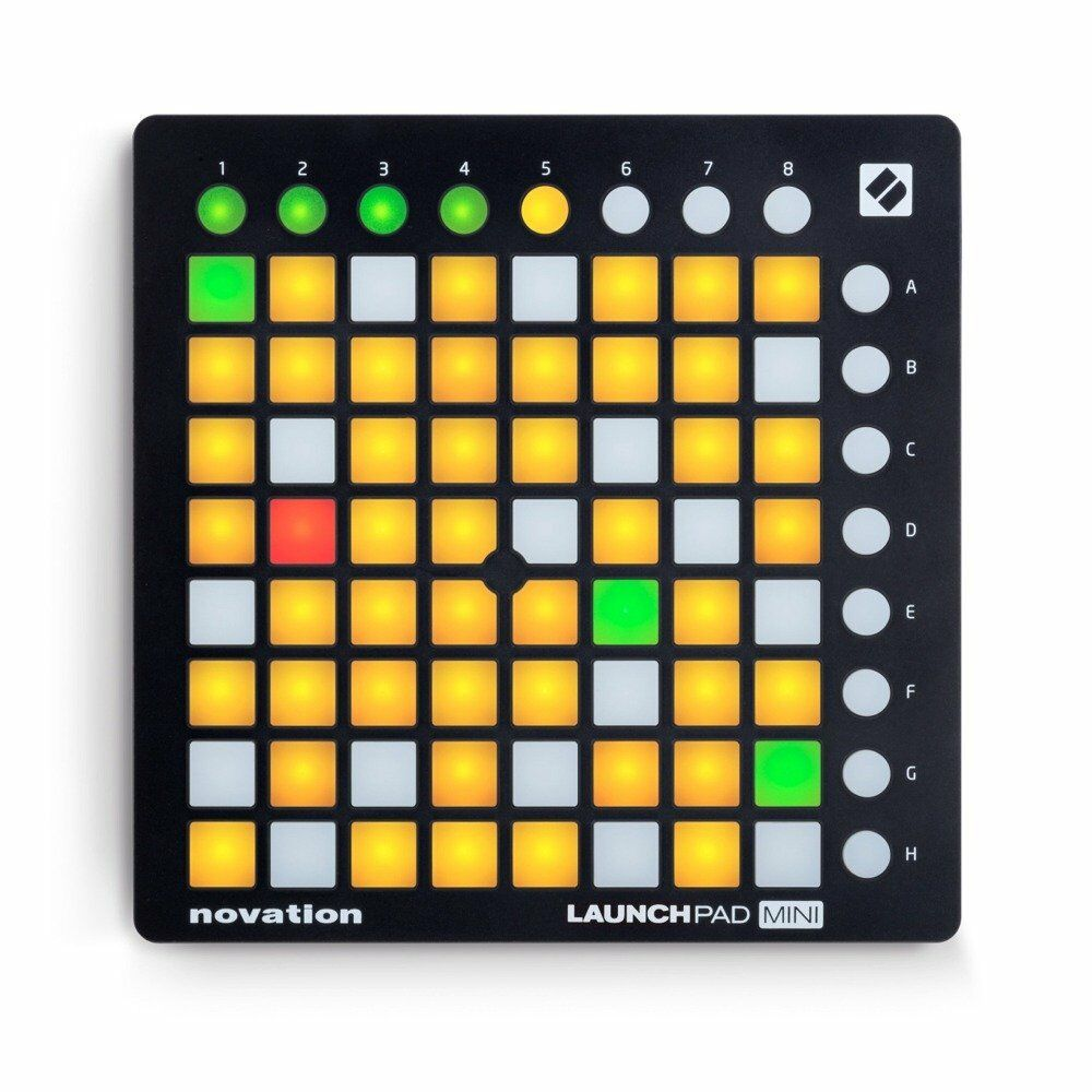 novation launchpad mini mk2 controller mkii ableton live 64 pad grid instrument ebay. Black Bedroom Furniture Sets. Home Design Ideas