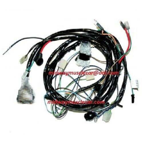 front end forward lamp light wiring harness 75 chevy ... 1975 corvette wiring harness