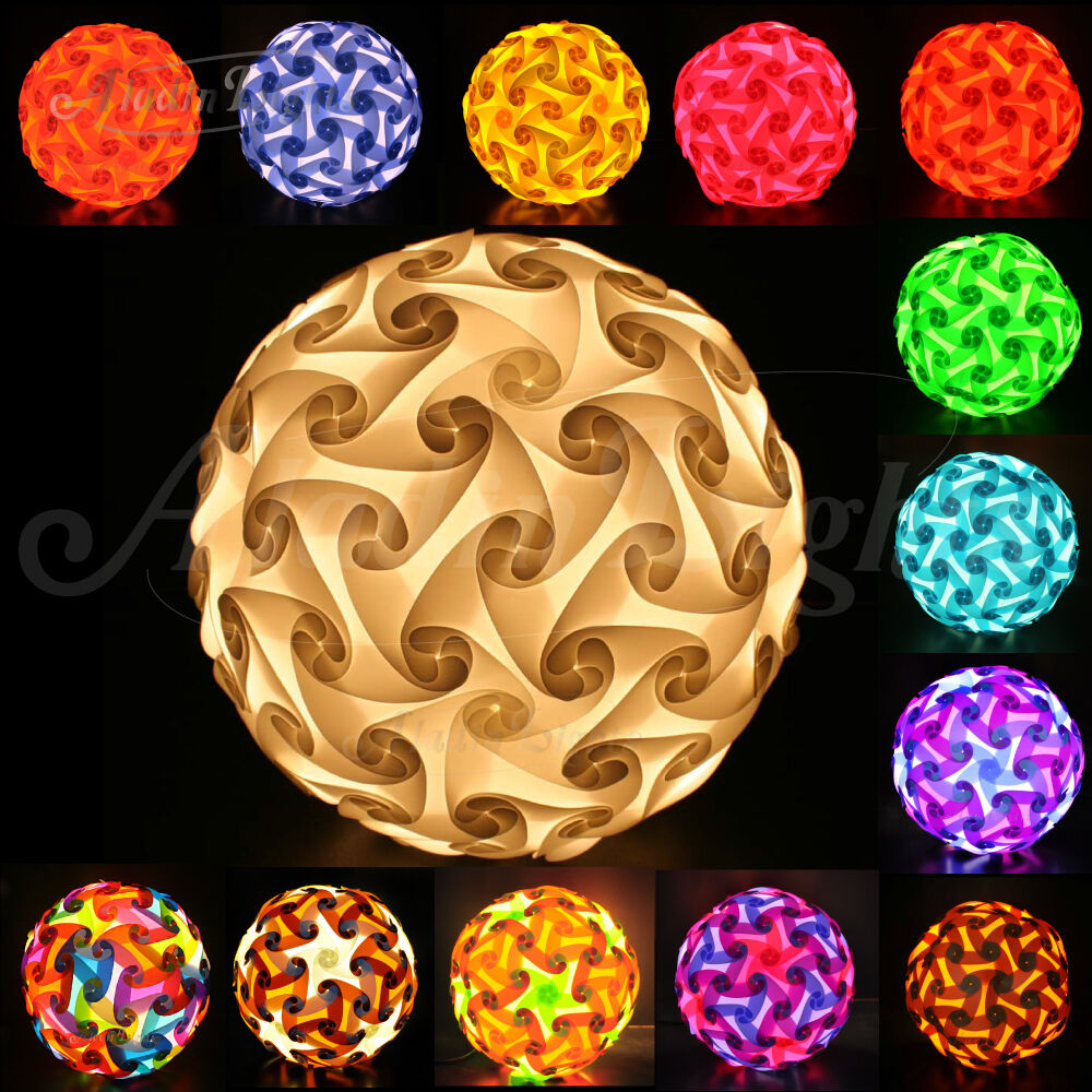 Details About Gaiashine 120 Elements Jigsaw Puzzle Lights Lamp Lampshade Infinity Diy Us