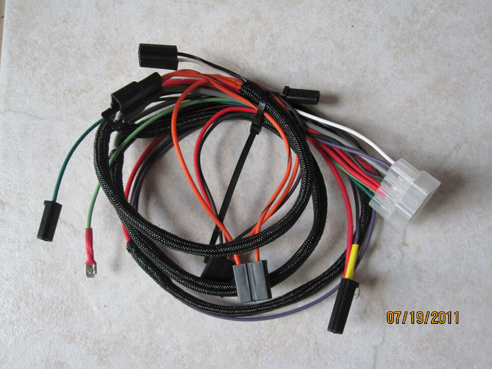 ih cub lo boy 154 main wiring harness new 185 ebay. Black Bedroom Furniture Sets. Home Design Ideas