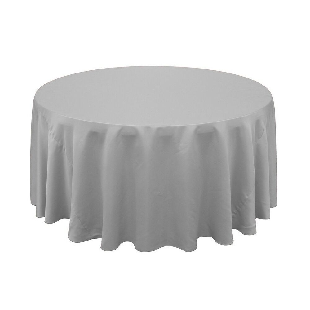 5 round 120 polyester tablecloths 5ft table cover high for 120 round table cloths