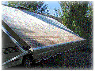15' RV AWNING REPLACEMENT FABRIC KIT A&E Dometic Carefree ...