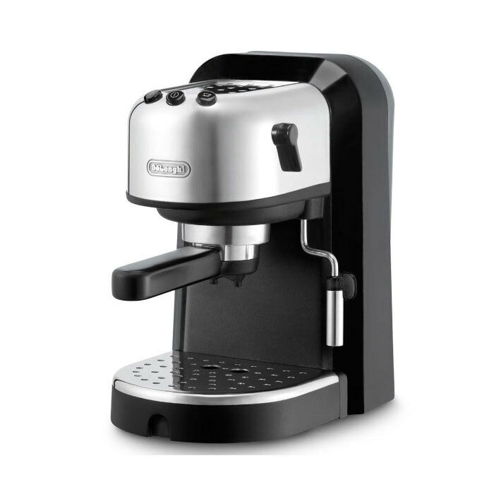 delonghi ec 270 espresso cappuccino maker milkfrother cupwarmer waterreservoir 44387282703 ebay. Black Bedroom Furniture Sets. Home Design Ideas