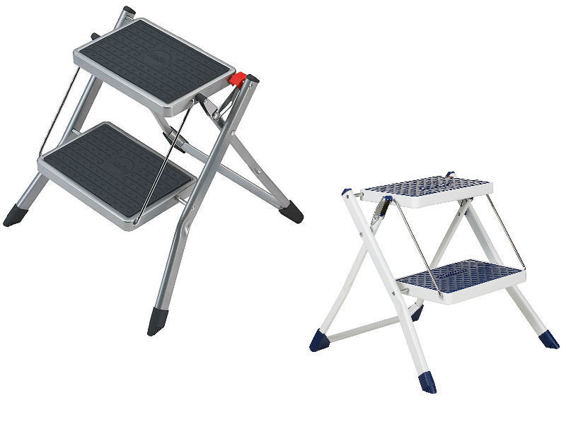 Hailo Mini 2 Kitchen Folding Step Ladder And Stool In