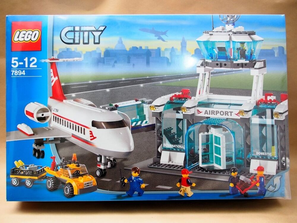 Lego 7894 City Airport New Sealed 673419129527 Ebay