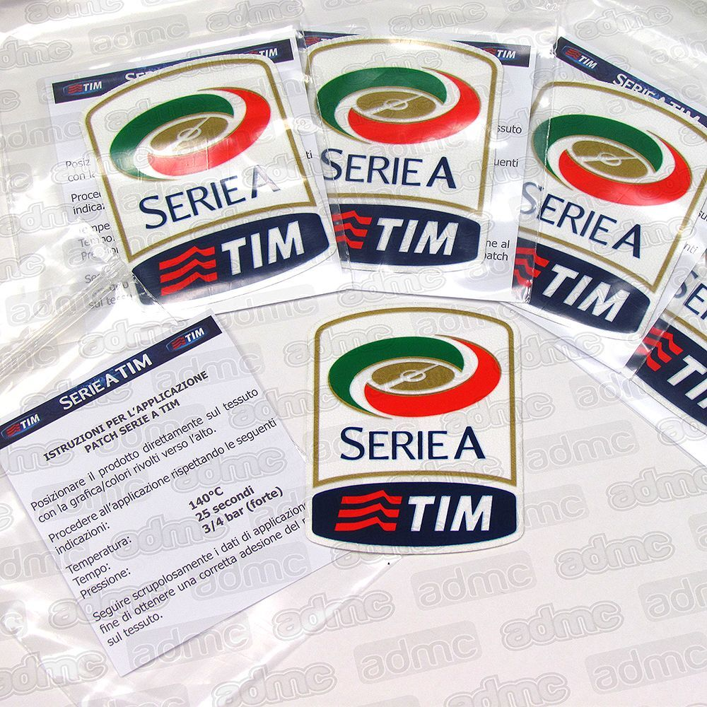 Serie A: Serie A Patch, Toppa, 2015-16 Official, Player Issue