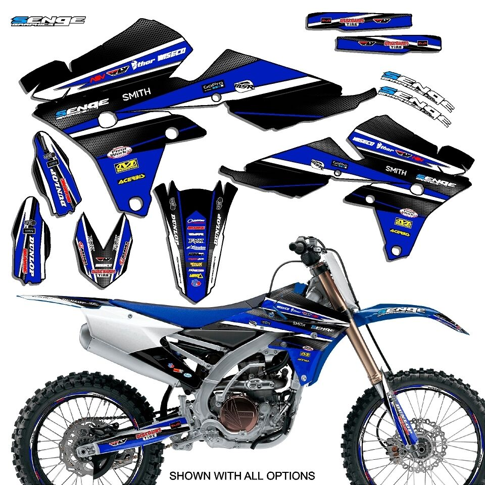 2014 2015 2016 2017 yz 250f 450f graphics kit yz450f for Sticker deco