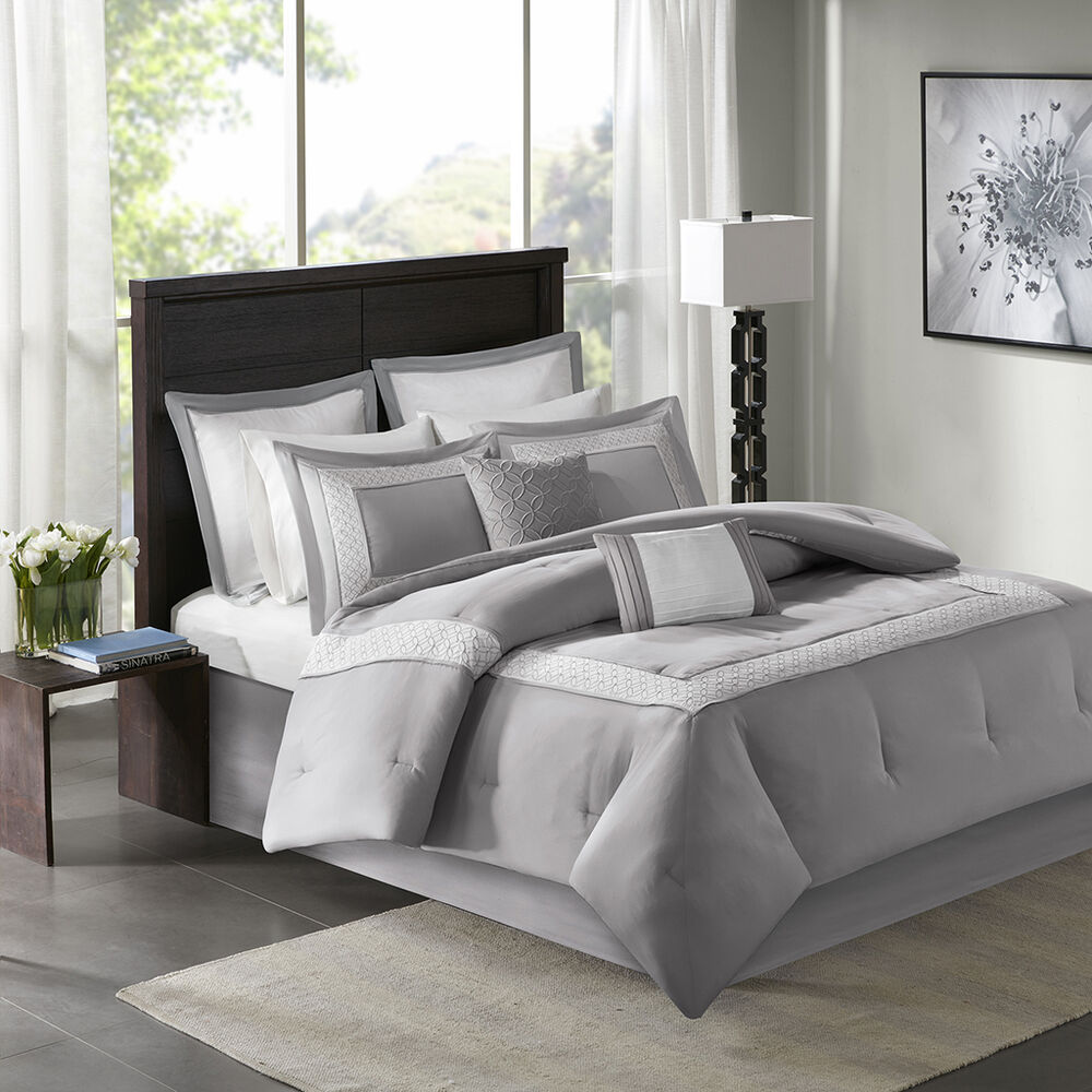 modern bedding sets beautiful modern contemporary grey white stripe 11301