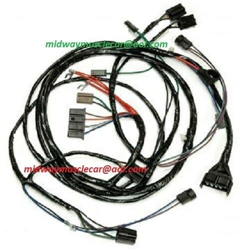 1963 chevy impala wagon wiring harness front end headlight headlamp wiring harness 63 1963 chevy ... 1963 chevy impala wiring diagram #12