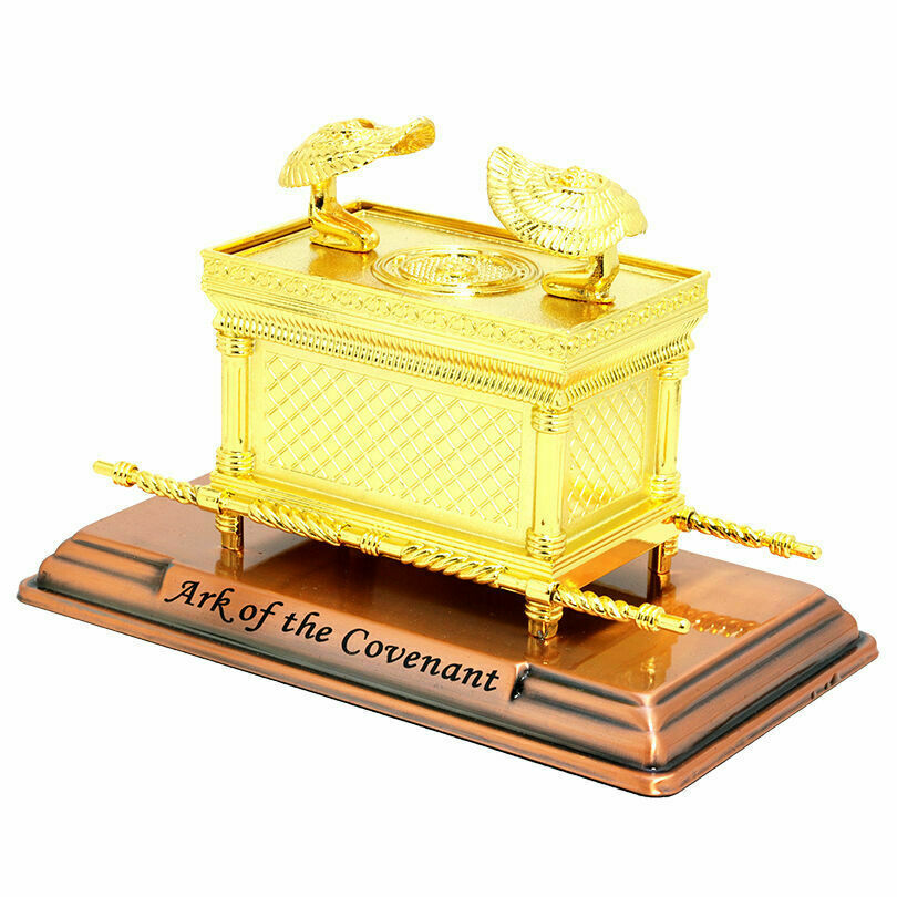 Gold plated copper XXL Jewish Ark of the covenant ...
