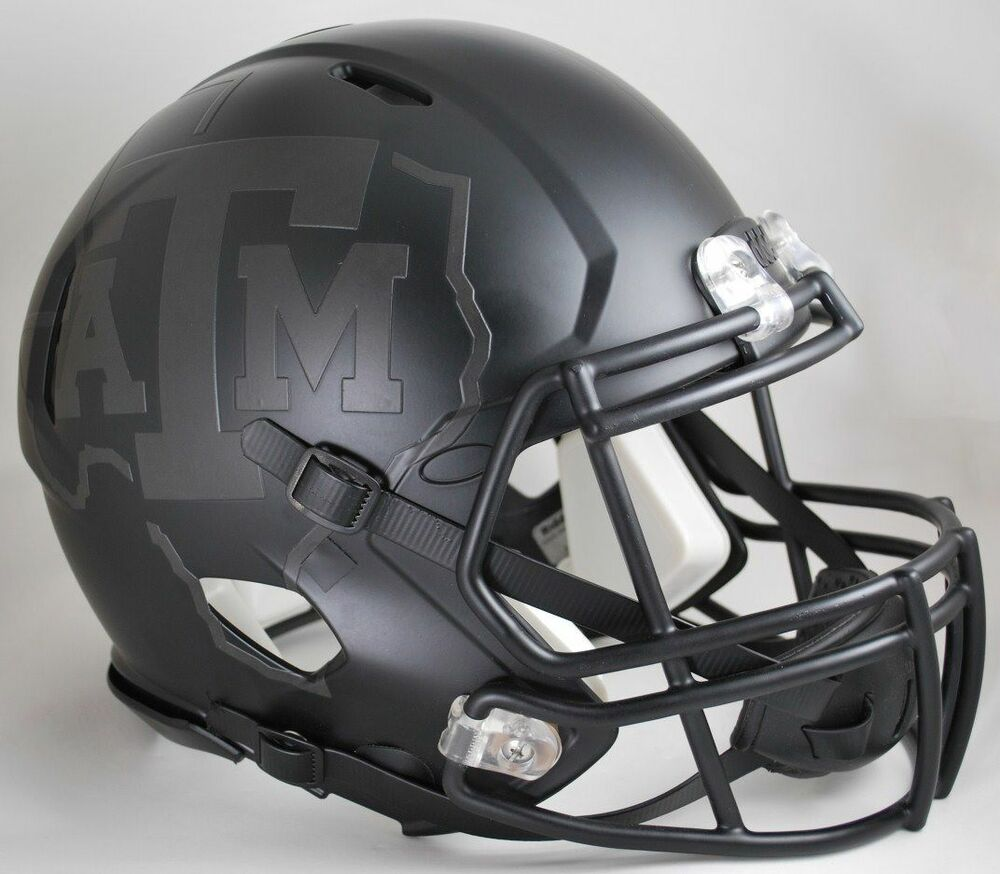 Texas A Amp M Aggies Quot Nights Edition Quot Ncaa Riddell Speed