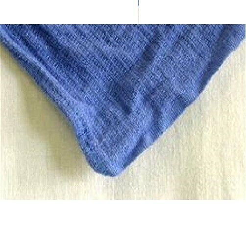 Huck Surgical Towels: 12 PREMIUM BLUE HUCK TOWELS GLASS CLEANING JANITORIAL