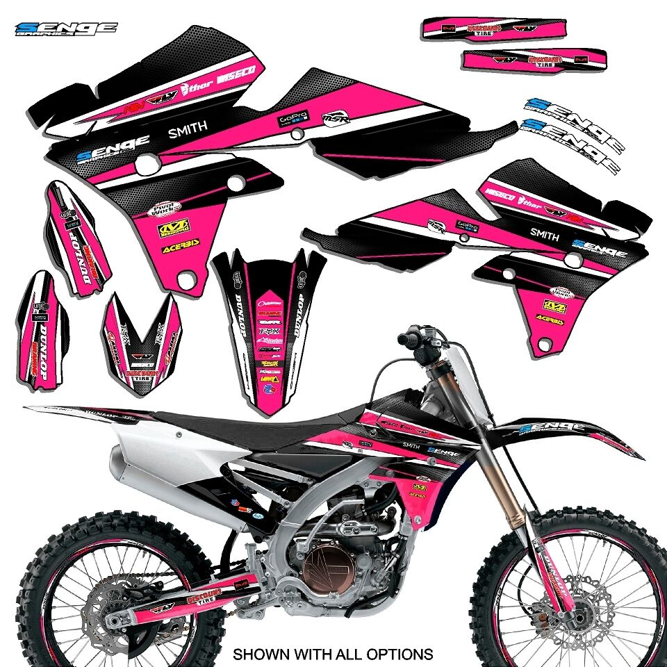 2002 2003 2004 yz 125 250 graphics kit yamaha yz125 yz250 deco decals stickers ebay. Black Bedroom Furniture Sets. Home Design Ideas