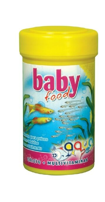 Aquarium tank small baby fish fry food 100 ml ebay for Baby fish food