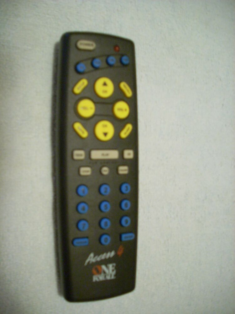 Universal Electronic Tv Vcr Remote Control Access 4 One 4 All Urc
