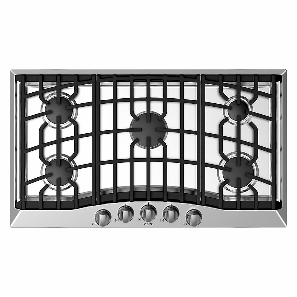 Viking rvgc3365bss 36 gas cooktop ebay for Viking 36 electric cooktop