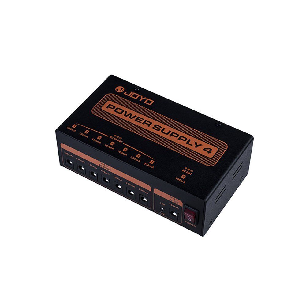 joyo jp 04 power supply 4 guitar pedal 8 isolated 9v outputs dc cables included ebay. Black Bedroom Furniture Sets. Home Design Ideas