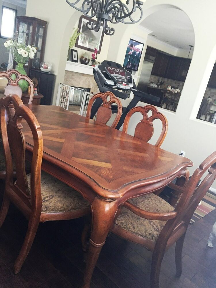 Dining Table Thomasville British Gentry Collection Ebay