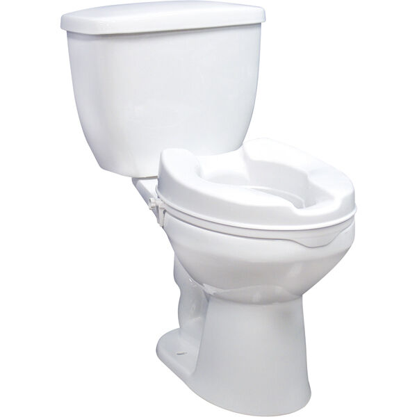 Raised Toilet Seat With Lock And Lid Without Lid 6 Inches EBay