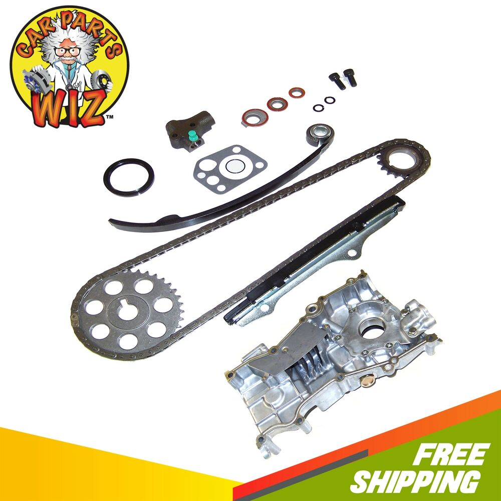 timing chain kit oil pump fits 90 92 nissan axxess stanza. Black Bedroom Furniture Sets. Home Design Ideas