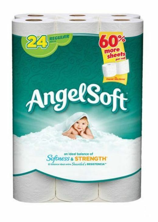 angel soft toilet paper soft toilet paper 24 regular rolls bath tissue ebay 10059
