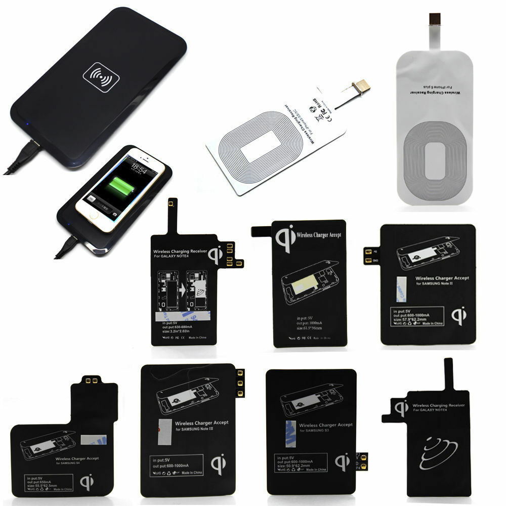 wireless charger for iphone qi wireless charger charging pad receiver kit for iphone 2075