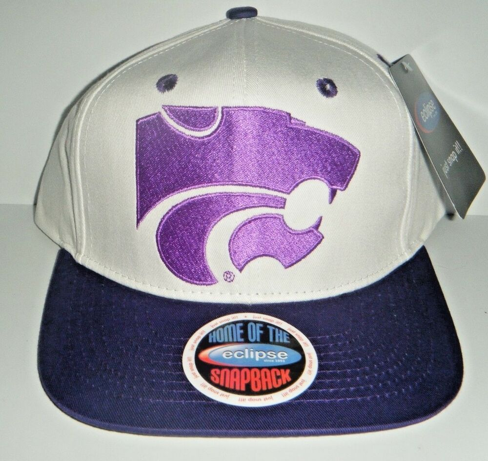 the latest 729a5 83d49 Details about Kansas State Wildcats Snapback Hat NWT Authentic Cap