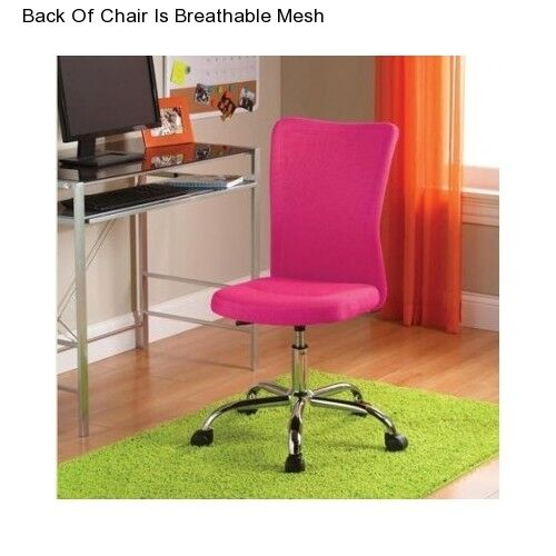 Office Chair Adjustable Furniture Computer Desk Youth Teen Seat | eBay
