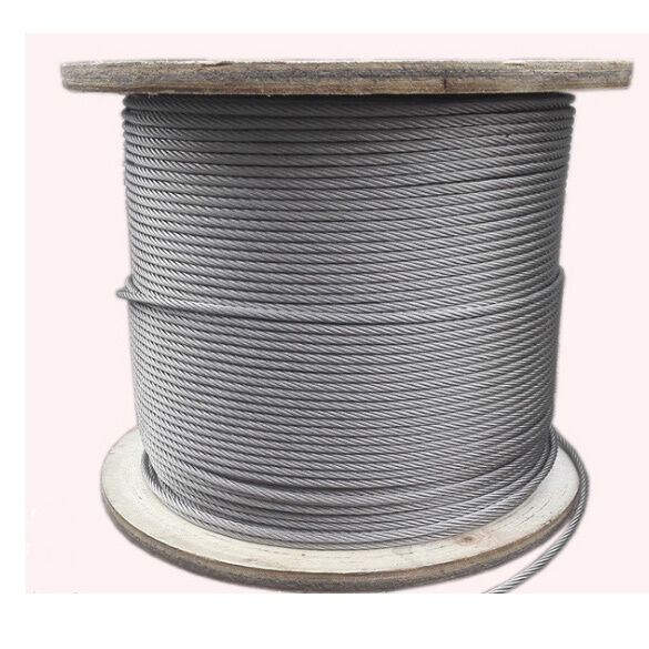 Diameter 5mm 7x19 Stainless Steel 304 Cable Wire Rope