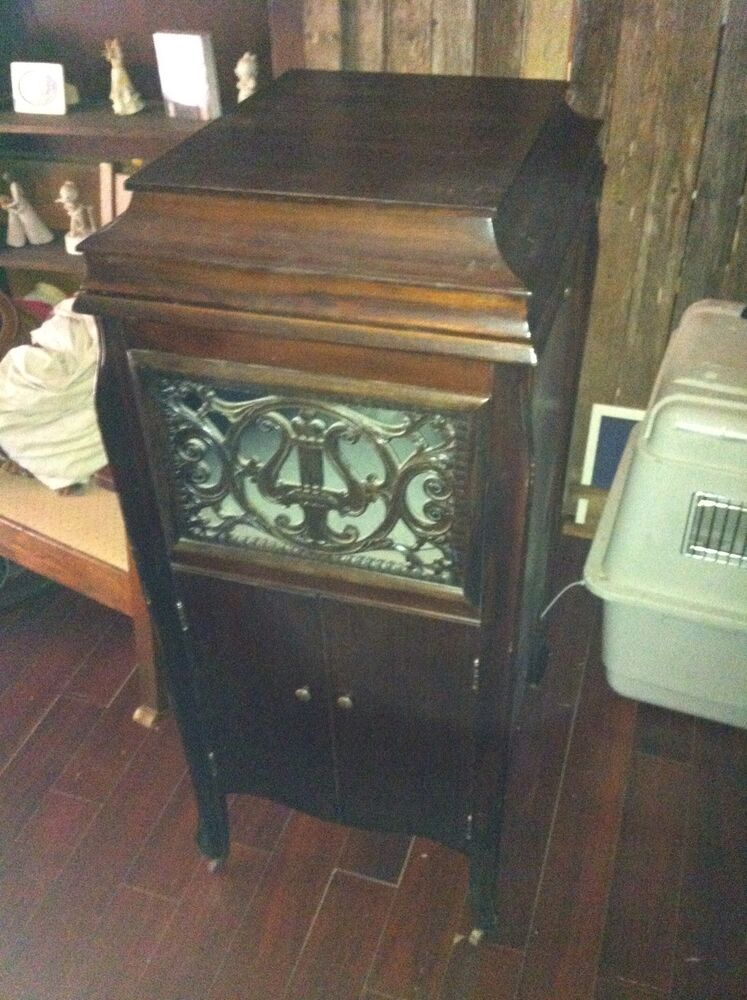 vintage record player cabinet vintage phonograph record player original cabinet ebay 27998