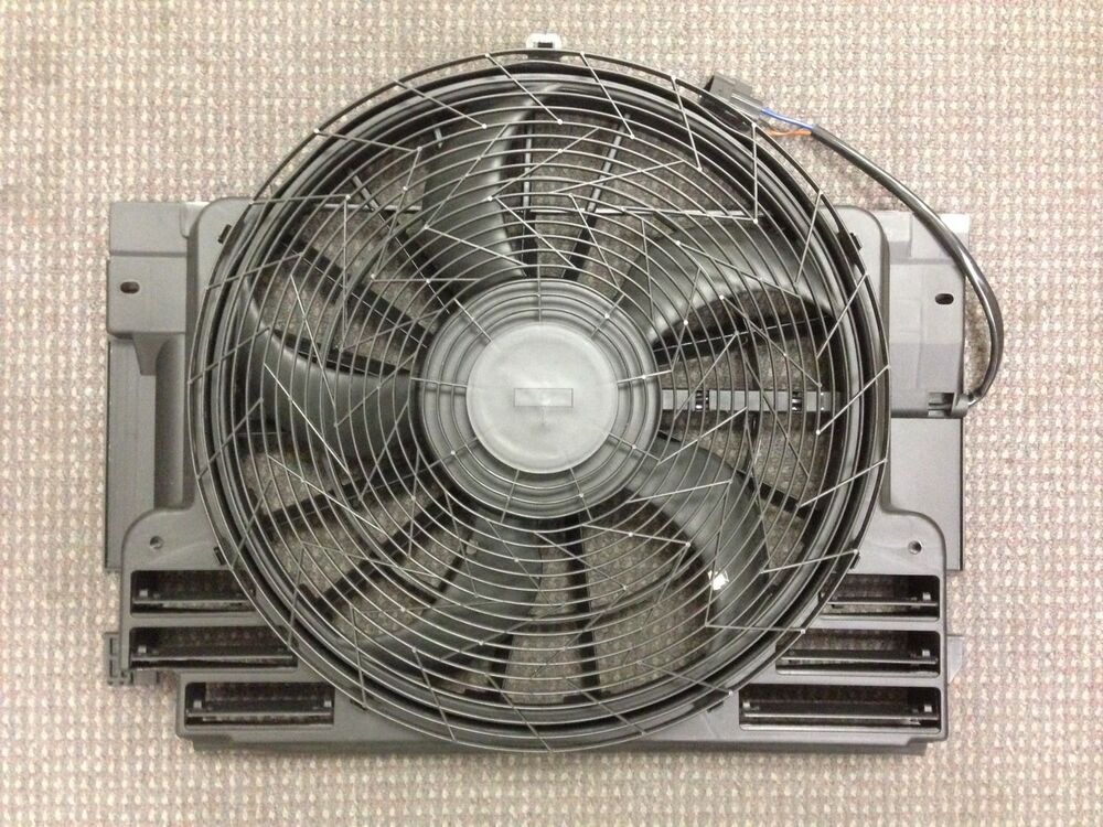 New oem replacement condenser fan assy for bmw x5 2000 for Ac condenser fan motor replacement