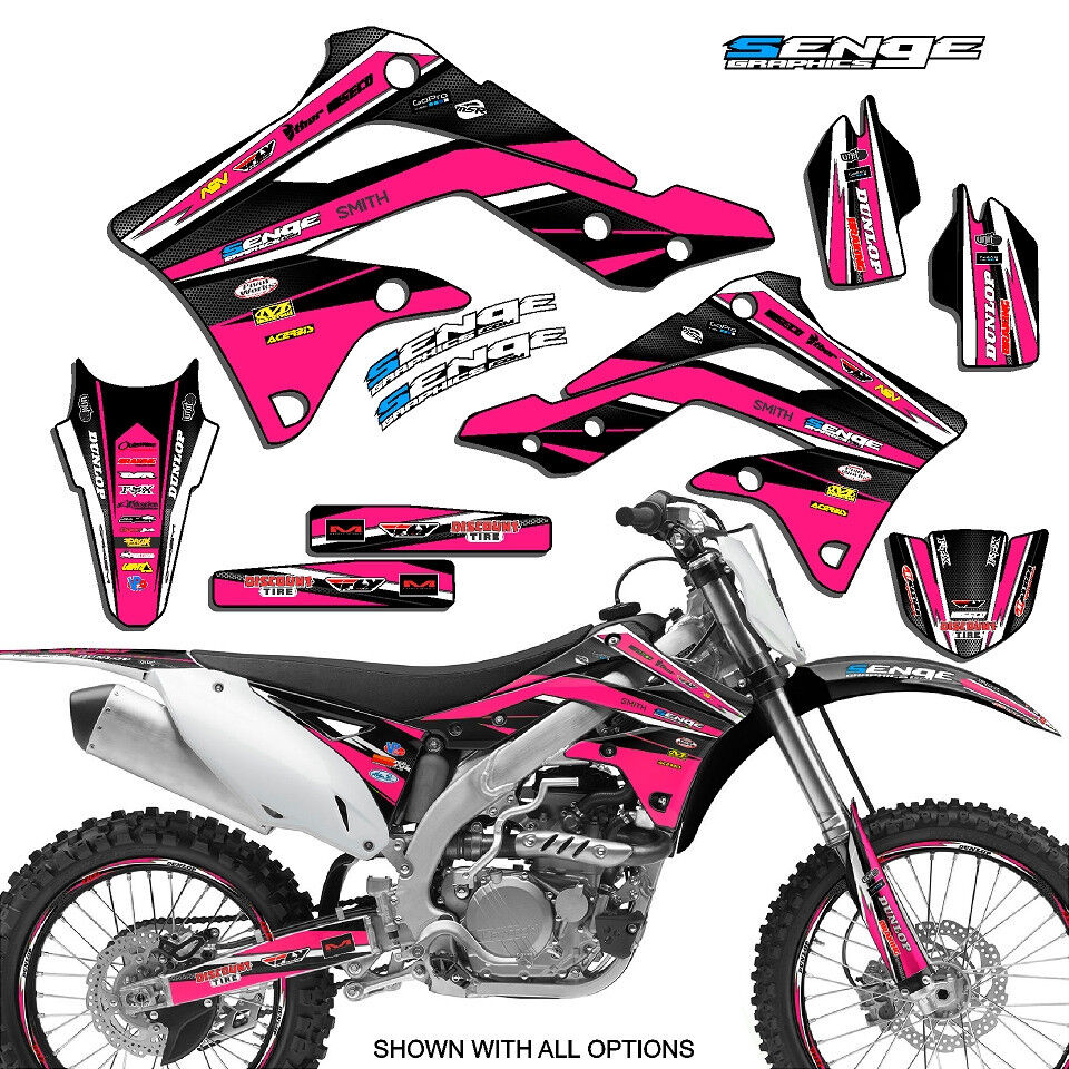 2004 2005 2006 2007 klx 250 graphics kit kawasaki klx250 for Sticker deco